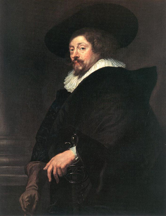 Peter Paul Rubens Reproductions-Self-portrait, 1639