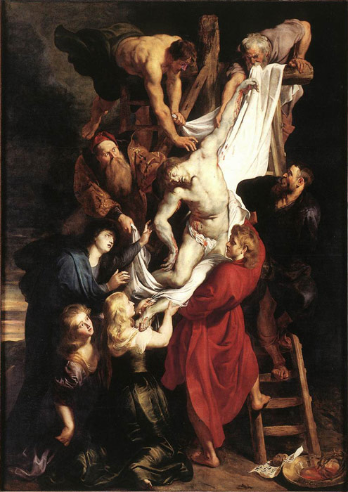 Paintings Reproductions Rubens, Peter Paul Descent from the Cross, 1612-1614