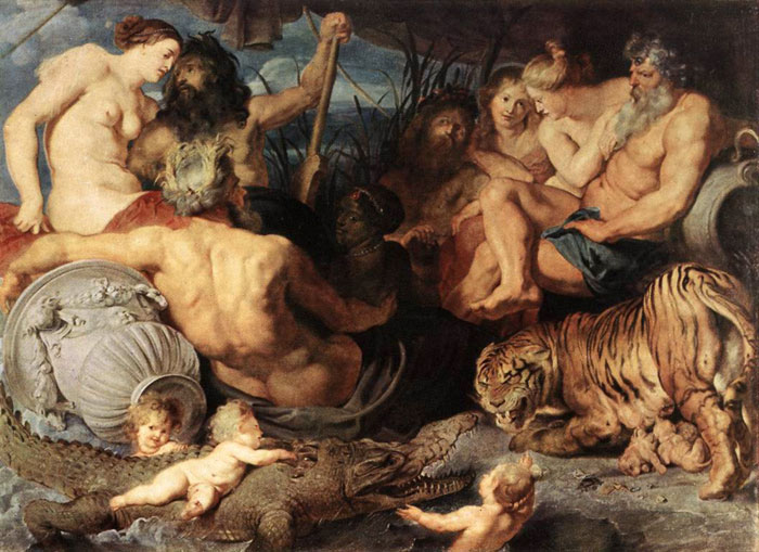 The Four Continents, c.1620 Rubens, Peter Paul Painting Reproductions