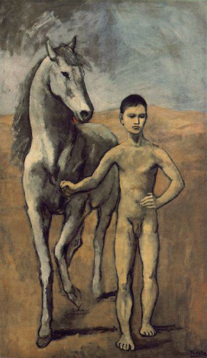 Pablo Picasso Reproductions-Boy Leading a Horse, 1906