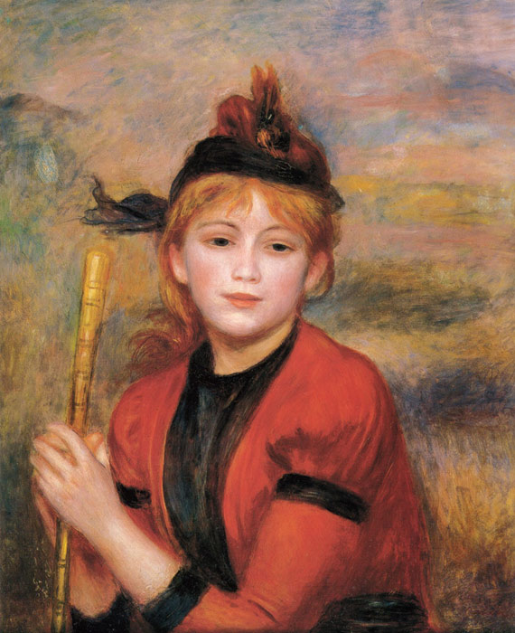 Pierre Auguste Renoir Reproductions-The Rambler,  c.1895