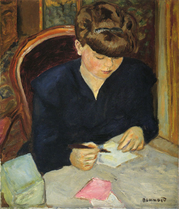 Letter, 1906 Bonnard, Pierre Painting Reproductions