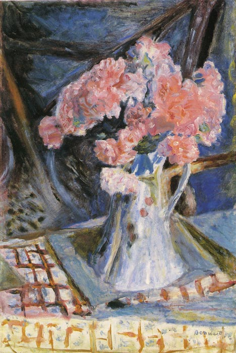 Paintings Reproductions Bonnard, Pierre Bouquet, 1930