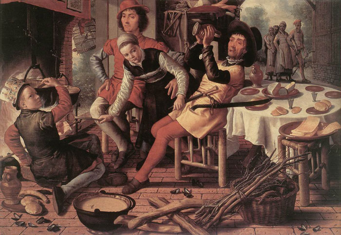 Paintings Pieter Aertsen