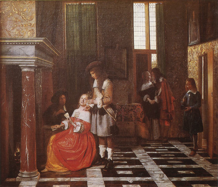 Paintings Pieter de Hooch
