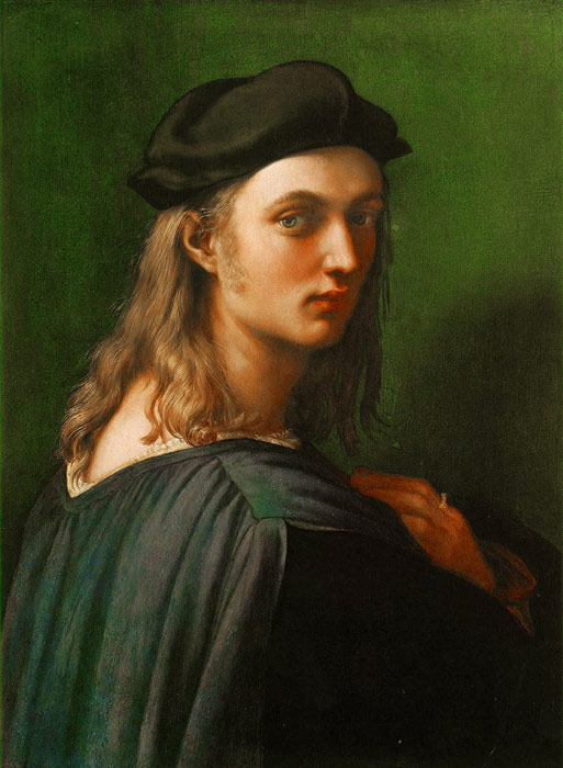Raffaello Sanzio Raphael Reproductions-Portrait of Bindo Altoviti, 1512-1515
