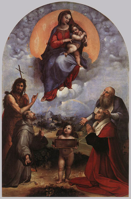 Paintings Raffaello Sanzio Raphael