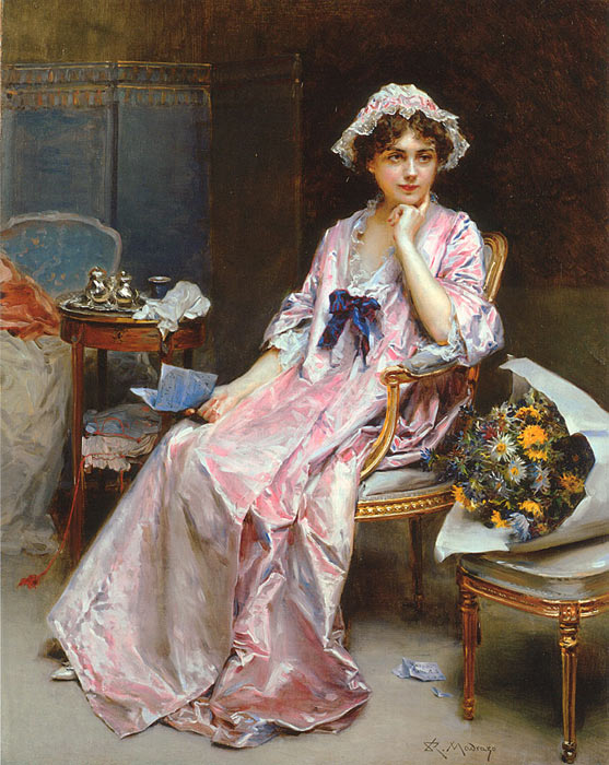 Paintings  Raimundo de Madrazo y Garreta
