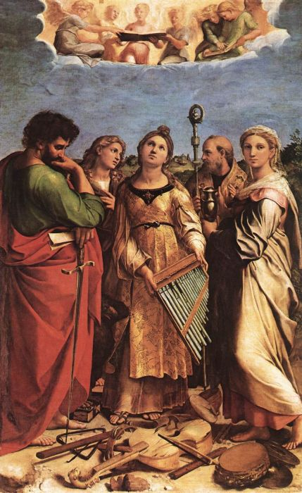 Paintings Raphael, Raffaello Sanzio