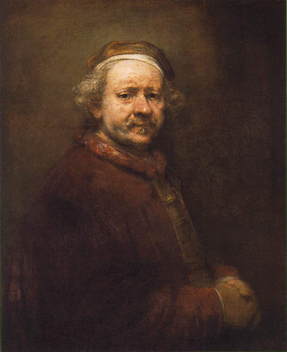 Self-Portrait, 1669 Rembrandt, Harmensz van Rijn Painting Reproductions
