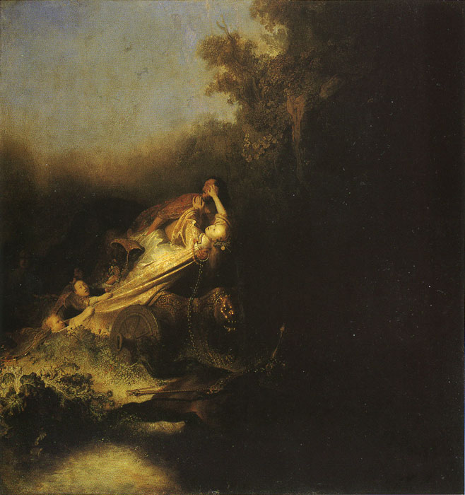 Rembrandt  Reproductions-The Abduction of Proserpine, 1631