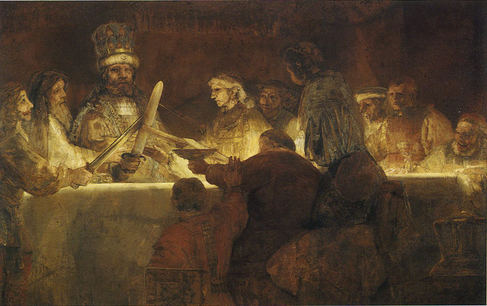 Rembrandt  Reproductions-The Conspiracy of Claudius, 1661