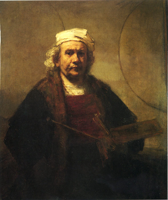 Self-Portrait, 1661 Rembrandt, Harmensz van Rijn Painting Reproductions