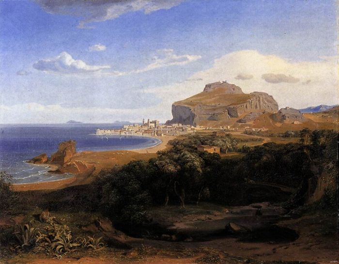 Carl Rottmann Reproductions-Cefalu, 1830