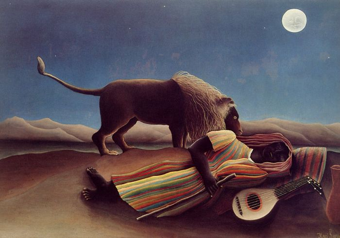 Paintings Henri Rousseau