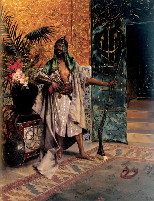 Rudolf Ernst Reproductions-Harem Guard
