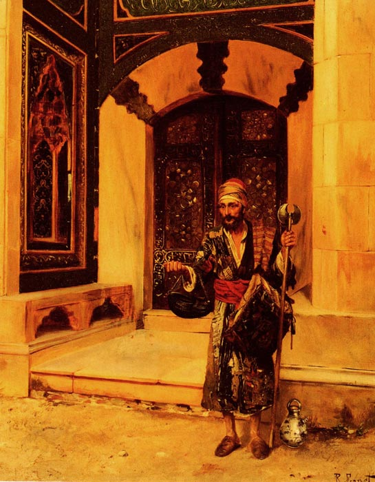 Rudolf Ernst Reproductions-The Beggar