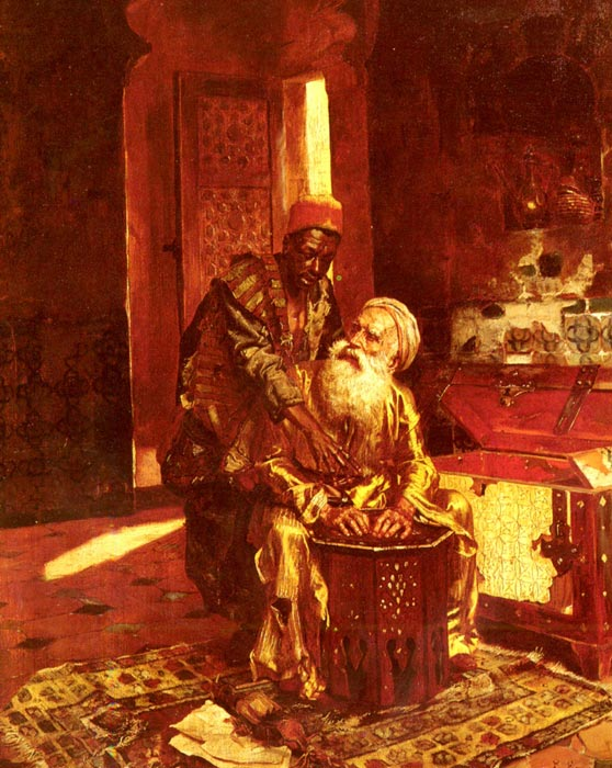 Rudolf Ernst Reproductions-The Money Changer