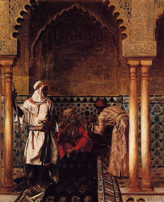 Rudolf Ernst Reproductions-An Arab Sage, 1886
