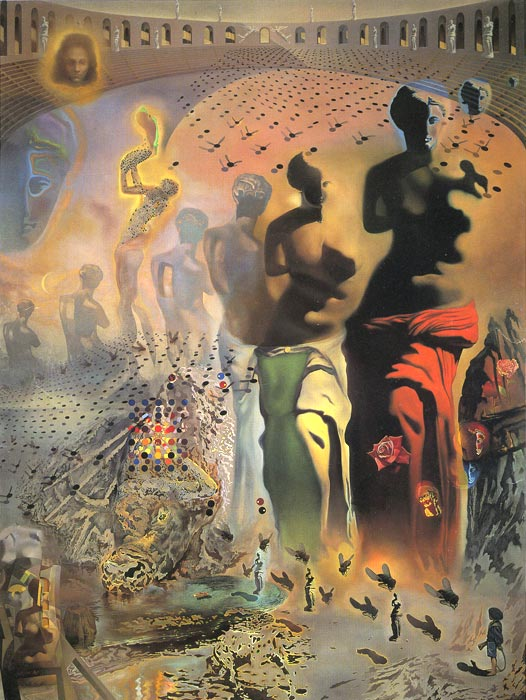 Salvador Dali Reproductions-The Hallucinogenic Toreador, (1969-70)