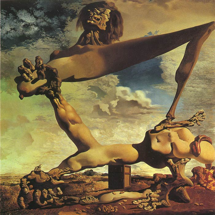 Salvador Dali Reproductions-Premonition of Civil War, 1936