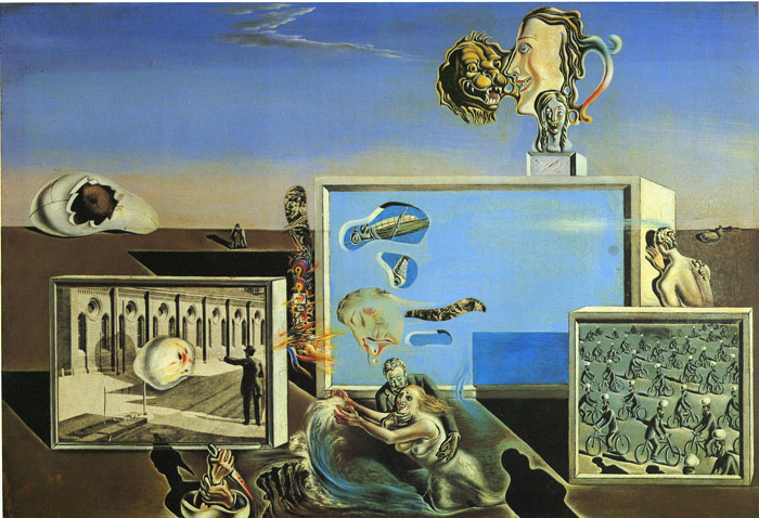 Salvador Dali Reproductions-The First Days of Spring, 1929