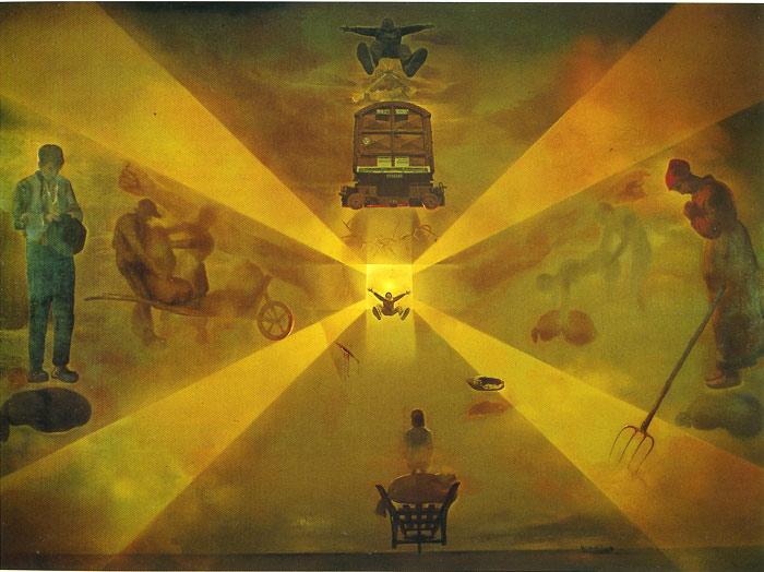 Paintings Reproductions Dali, Salvador Perpignan Station, 1965