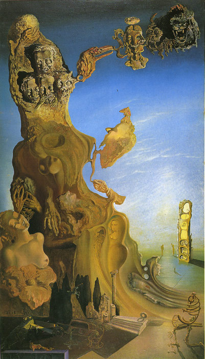 Paintings Reproductions Dali, Salvador Imperial Monument to the Child Woman, 1930