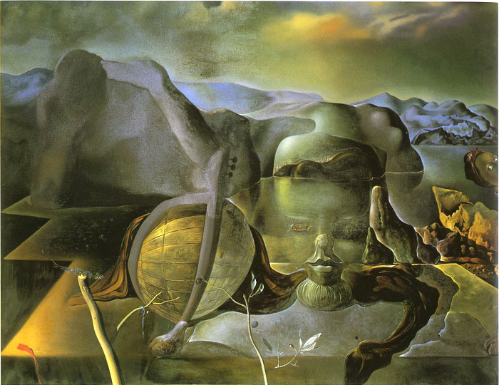Salvador Dali Reproductions-The Endless Enigma, 1938