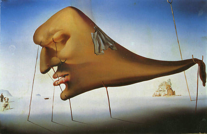 Salvador Dali Reproductions-The Dream, 1937
