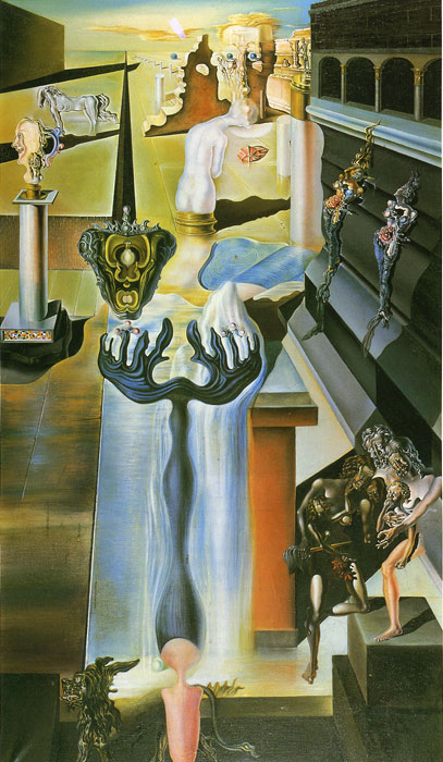 Salvador Dali Reproductions-The Invisible, 1929
