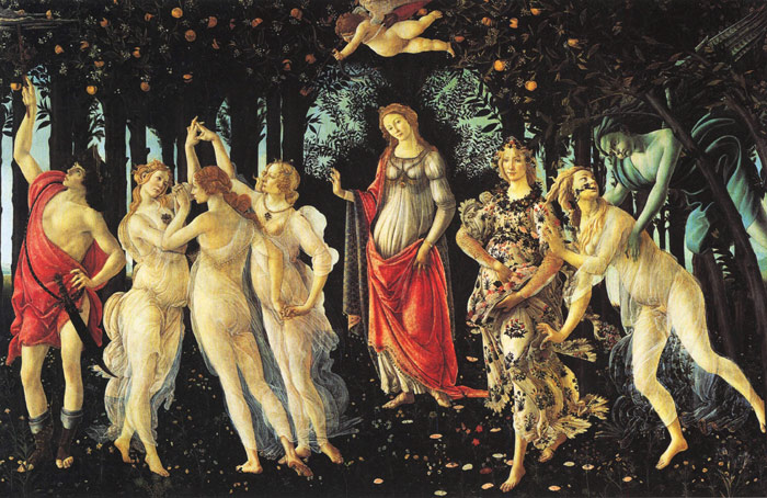 La Primavera [Allegory of Spring], 1477-1478 Botticelli, Sandro Painting Reproductions