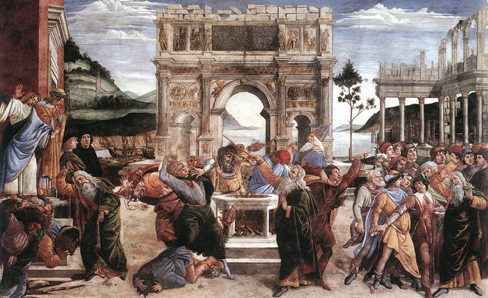 Paintings Sandro Botticelli