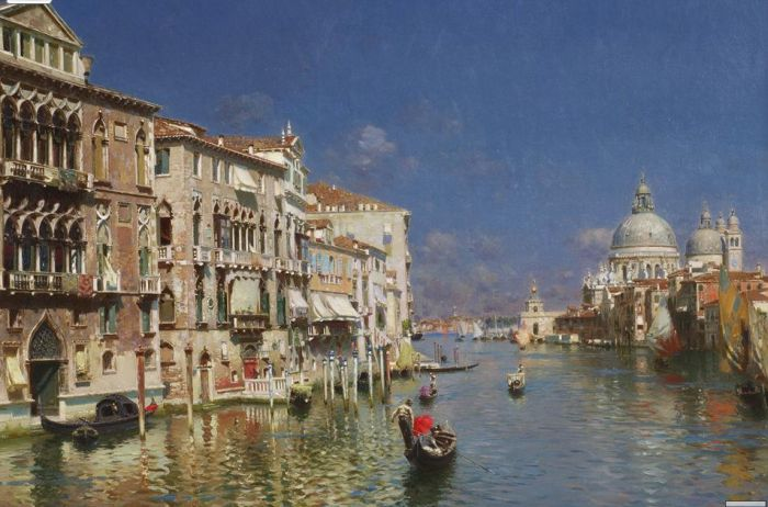 Rubens Santoro Reproductions-Venice, The Grand Canal