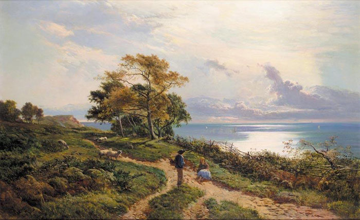 Paintings Sidney Richard Percy