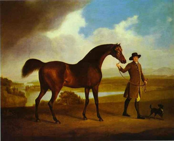 George Stubbs Reproductions-Earl Grosvenor's Bandy
