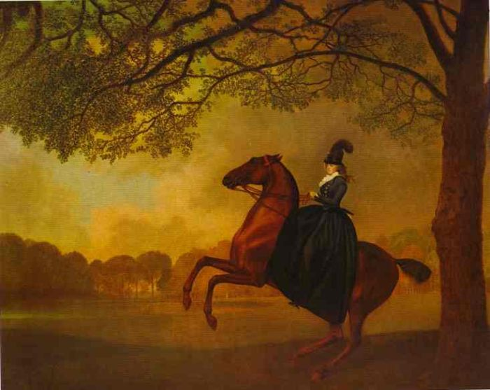 George Stubbs Reproductions-Laetitia, Lady Lade, 1973