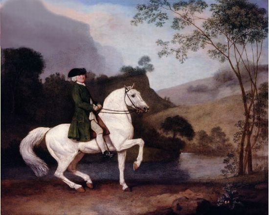 George Stubbs Reproductions-Sir Sidney Meadows,1778