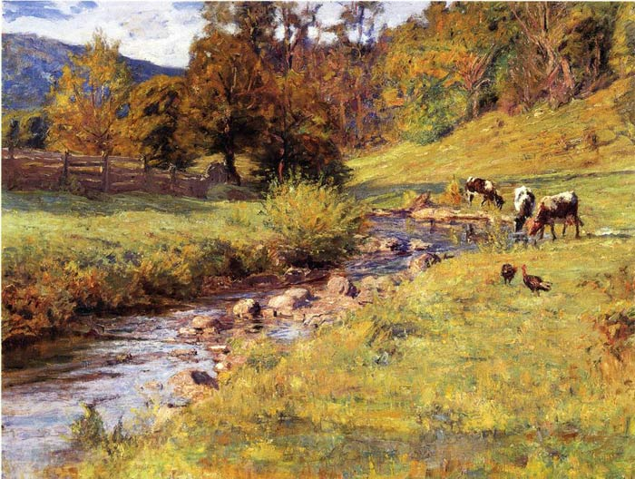 Theodore Clement Steele Reproductions-Tennessee Scene,  1899