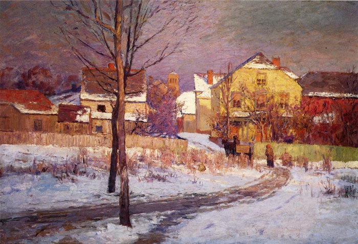 Tinker Place, 1891 Steele, Theodore Clement Painting Reproductions