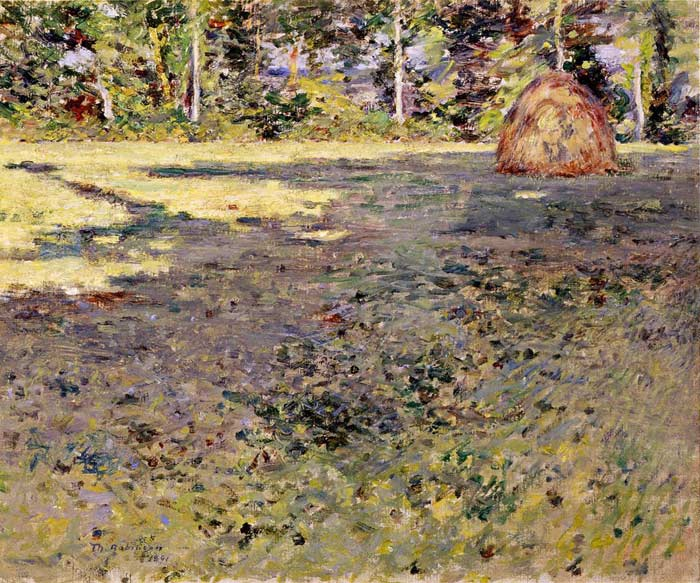 Theodore Robinson Reproductions-Afternoon Shadows, c.1891