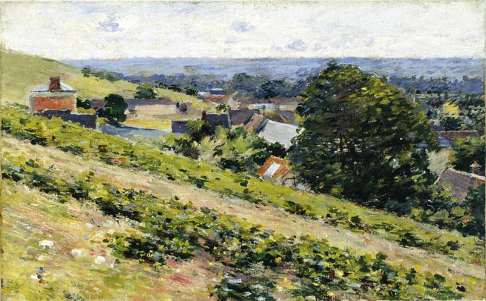 Theodore Robinson Reproductions-From the Hill, Giverny, c.1889