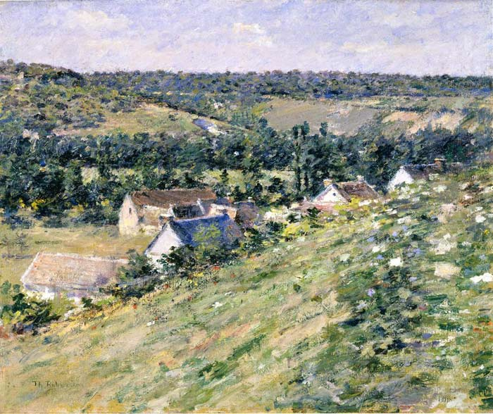 Theodore Robinson Reproductions-Giverny, c.1888