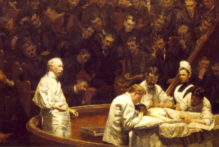 Thomas Eakins Reproductions-The Agnew Clinic, 1889