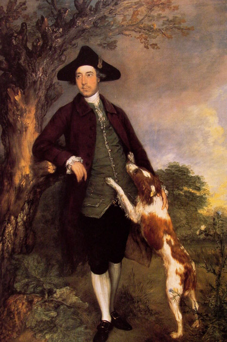 Thomas Gainsborough Reproductions-George, Lord Vernon, 1767