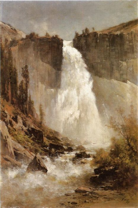 Thomas HillReproductions-The Falls of Yosemite, 1893
