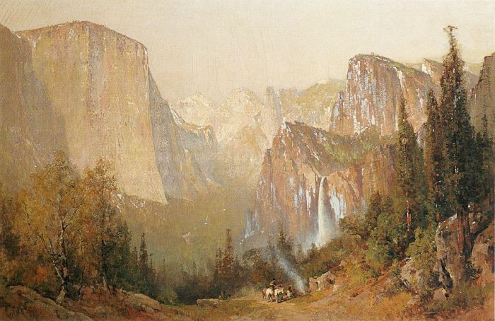 Thomas HillReproductions-Yosemite Valley, 1900