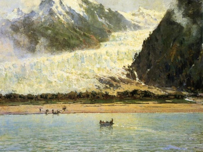 Thomas HillReproductions-The Davidson Glacier, 1888