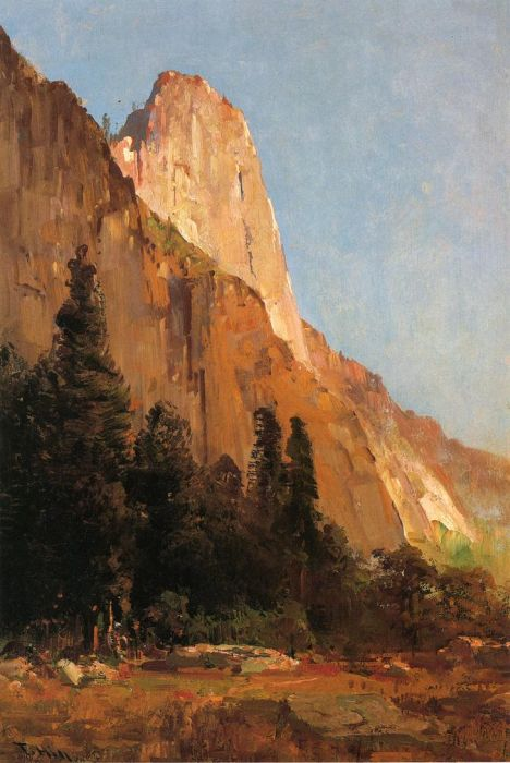 Thomas HillReproductions-Sentinel Rock, Yosemite, 1888