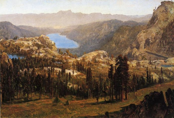 Thomas HillReproductions-Donnner Lake, 1874